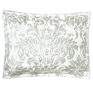 Kate Pewter Standard Quilted Sham