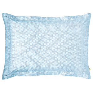 Diamond Lattice Lake Standard Duvet Sham