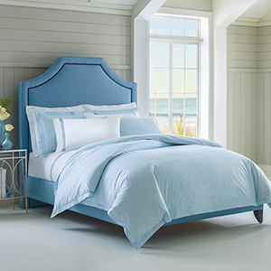 Diamond Lattice Lake Twin Duvet