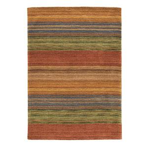 Brushstroke Multicolor Rectangular: 5 Ft. x 8 Ft. Rug