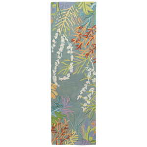 To-Bay-Go Multicolor Runner: 2 Ft. 6 In. x 8 Ft. Rug