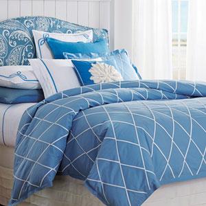 Calypso Capri Blue Twin Duvet