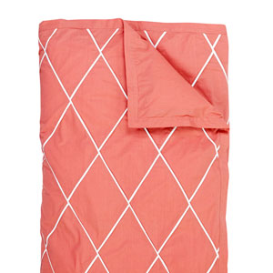 Calypso Red Full/Queen Duvet