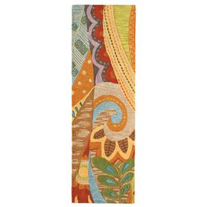 Art and Soul Multicolor Runner: 2 Ft. 6 In. x 8 Ft. Rug