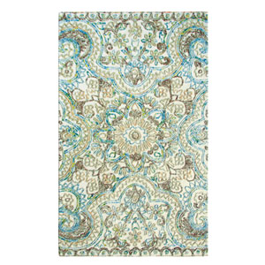 Agra Multicolor Rectangular: 8 Ft. x 10 Ft. Rug