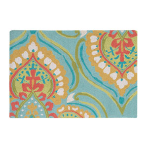 Namaste Aqua Rectangular: 2 Ft. x 3 Ft. Rug