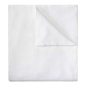 Ellora Matelasse White Full/Queen Quilt