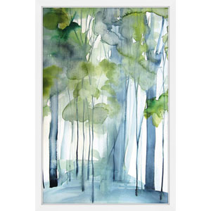 New Growth 16 x 24 In. Framed Painting Print