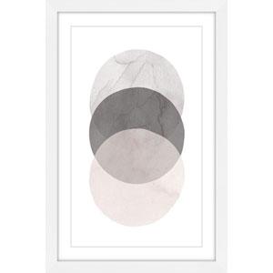 Three Circles 16 x 24 In. Framed Painting Print