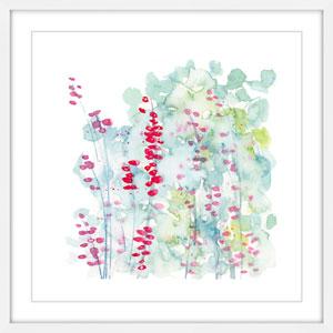 Winter Berries 18 x 18 In. Framed Painting Print