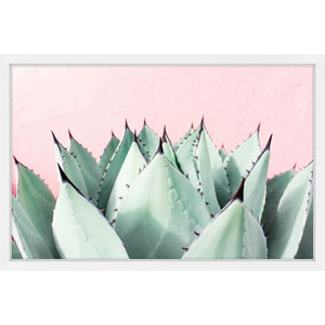 Sweet Succulents 36 x 24 In. Framed Painting Print
