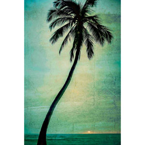 Lone Palm 12 x 18 In. Painting Print on Wrapped Canvas