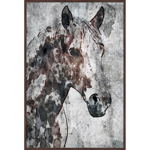 Ranch Horse 12 x 18 In. Painting Print on Wrapped Canvas