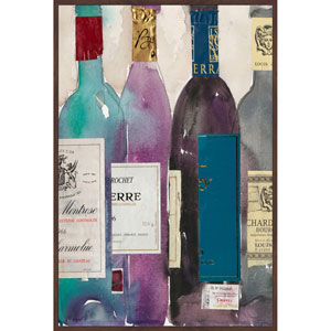 Dinner Party II 12 x 18 In. Painting Print on Wrapped Canvas