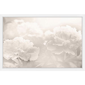 Peony 36 x 24 In. Framed Painting Print