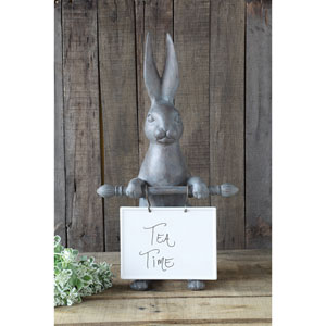 Hare with Ceramic Message Board