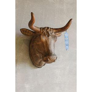 Gold Bull Head