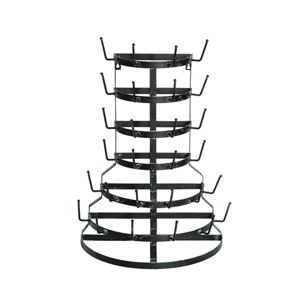 Metal Half Round Bottle Drying Rack