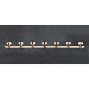 Metal Wall Hook with Seven Hooks