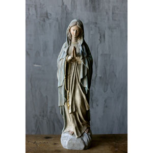 resin mary statue - Resin Garden Statues