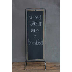 Metal Two-Sided Blackboard with Stand