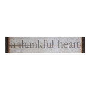A Thankful Heart Metal Wall Décor