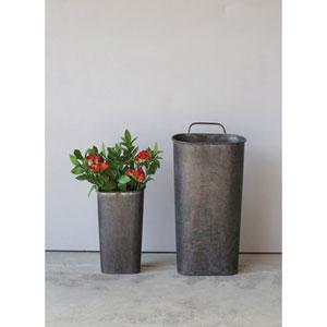 Tin Wall Bucket with Handle