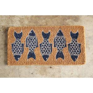 Natural Coir Fish Doormat