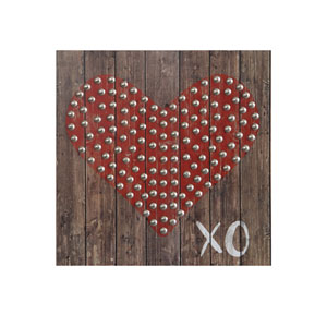 XO Heart 10 In. Wall Décor