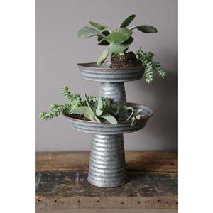 Short Decorative Metal Pedestal