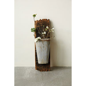 12 In. Metal Planter