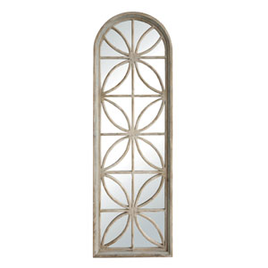 Arched Natural Wall Mirror