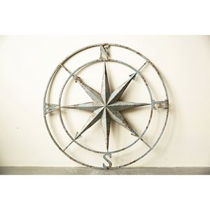 Aqua 41 In. Iron Compass