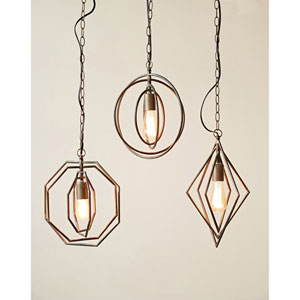 Metal Circle Pendant Lamp