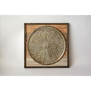 Wood and Tin Wall Decor