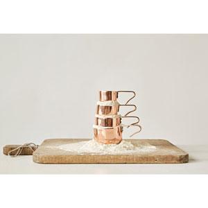 Copper Measuring Cups