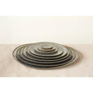 Round Decorative Galvanized Metal Trays