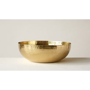 Brass Round Metal Bowl