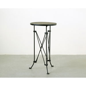 Pine Top Metal Table