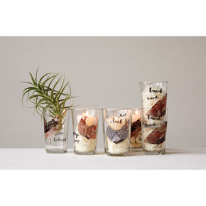 Chicken Juice Glass, Set of Four