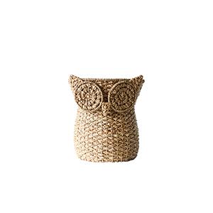 Terrain Beige Bankuan Owl Basket