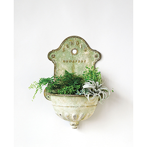 Reproduction of Vintage Wall Water Fountain