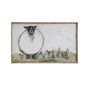 Sheep Canvas Wall Décor