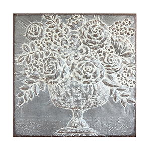 Metal Floral Bouquet Wall Décor