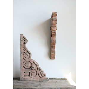 Wood Corbels, Set of Two