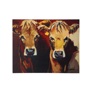 Cow 32 x 26 In. Canvas Wall Art