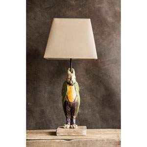 Cream Hare Lamp