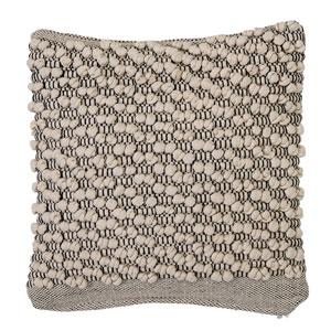 White 18 In. Cotton Pillow