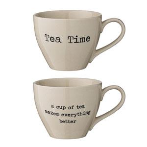 Josephine Ceramic Mug, Set of 2