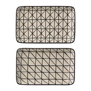 Julie Ceramic Plate, Set of 2